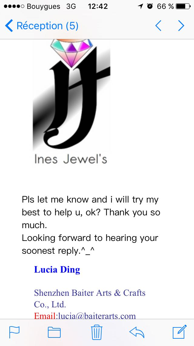Logo Ines jewels