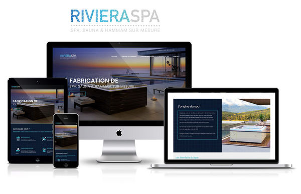 "Site Web ""Riviera Spa"""