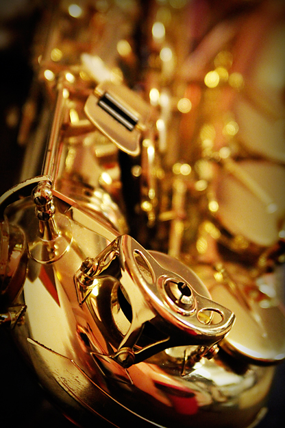 Photo de saxophone