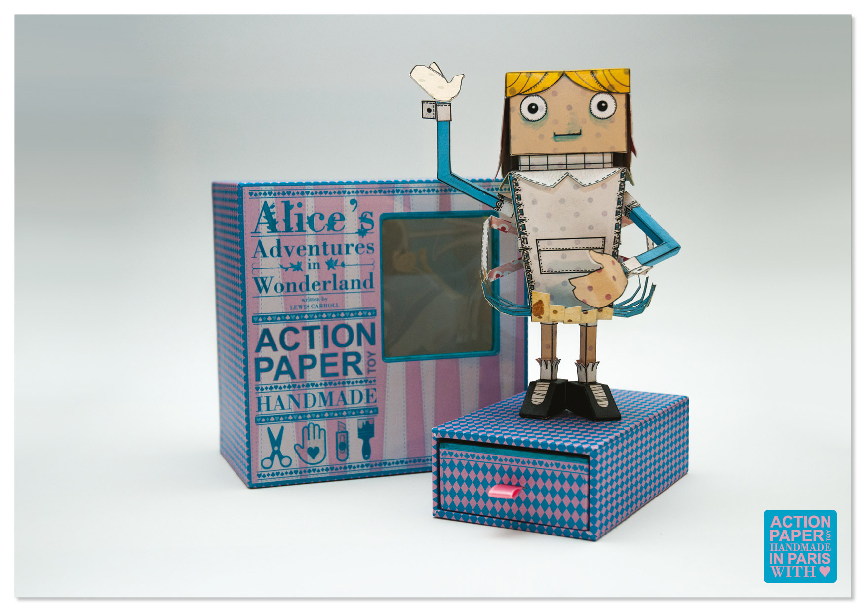 Packaging Paper Toy