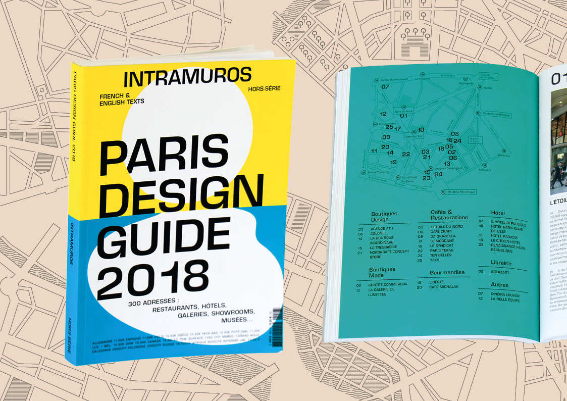 (STEREO BURO) Intramuros Guide Paris Design