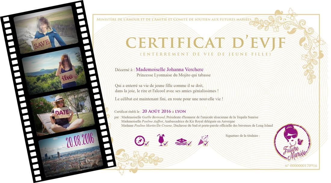 Diplome Enterrement De Vie De Jeune Fille Bm05 Aieasyspain